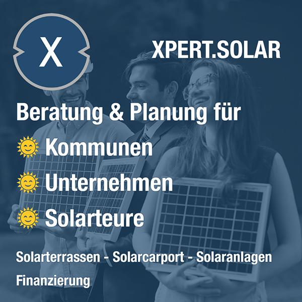 Xpert.Plus Solarcarport & Solarterrassen - Beratung und Planung